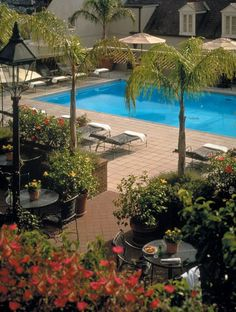 new orleans french quarter mardi gras | New Orleans Hotels | French Quarter Hotel - Omni Royal Orleans - roof ...