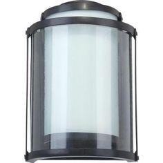 Sylvania 5 Watt Wall Mount Outdoor Matte Black Led Light Fixture 75271 0 At The Home