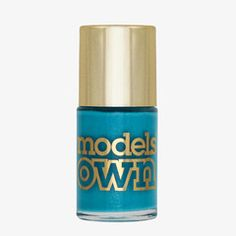 Models Own Asscher Blue Nail Polish (Diamond Luxe Collection)