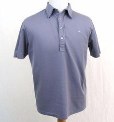 J Lindeberg Sport Shirt XL Golf Polo Purple Athletic Stretch Field Sensor Fabric #JLindeberg #PoloRugby