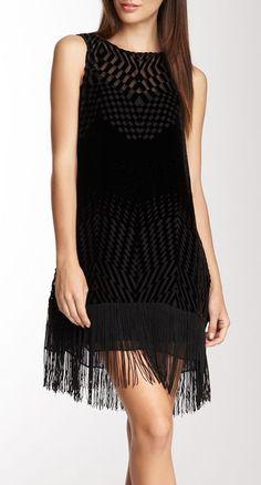 Ella Moss Silk Blend Marlowe Fringe Dress