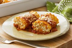 Cheese lovers rollups....always a big hit in our house when I make this.  What kid doesn't love pasta and cheese!