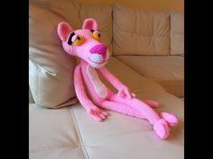 Pantera rosa Amigurumi (tutorial schema).How to crochet pink panther Amigurumi. Ciaooooo, benvenuti in questo nuovo video sulla realizzazione della carissima pantera rosa. :-) spero che il video vi piaccia e buona visioneeee ENGLISH VERSION: mb = sc Aum =