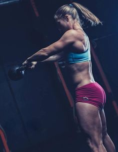 NOTICE STEADY GAINS IN YOUR CROSSFIT. Jenny LaBaw by Simply Perfection Photography