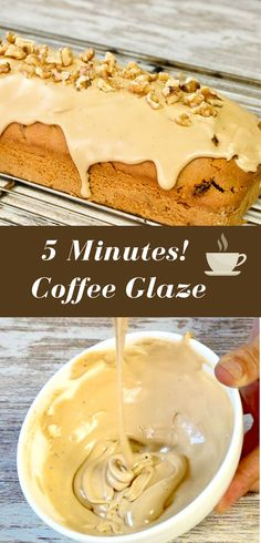 You only need 3 ingredients and 5 minutes to decorate your cakes with a beautiful and delicious coffee frosting. Click on the pin to see the recipe and the step by step It is very easy!