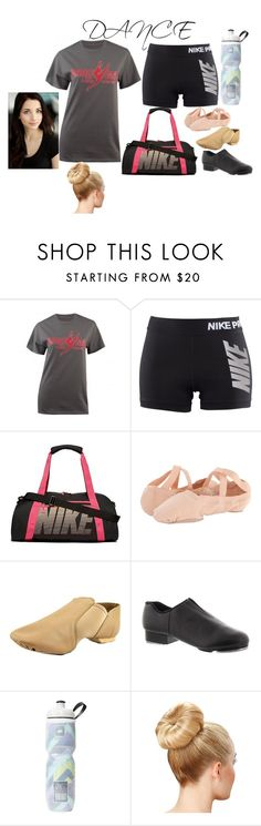 """""""Dance"""" by hogwarts10144 ❤ liked on Polyvore featuring CO, NIKE, Bloch, Capezio and Victoria's Secret"""