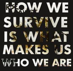 Favorite lyrics ever. Rise Against <3