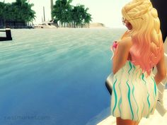 Heading For The Beach. Second Life. The summer has officially arrived. It is time to put together travel ideas and to head for the beach. I was looking for