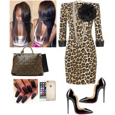 b5520fe64d2 Church! by cogic-fashion on Polyvore featuring Relish, Christian Louboutin,  Louis Vuitton, Other and Diesel