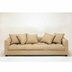 Canapé lit blanc Thala Caravane