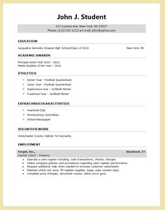 2017 resume for college scholarship
