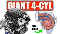 Cadillac's Giant 4-Cylinder Engine Has A New Dual Volute Turbo Chevy Trucks Older, Old Ford Trucks, Chevy Pickup Trucks, Lifted Chevy Trucks, Chevy Pickups, Gm Trucks, Chevy Silverado, General Motors, Cadillac