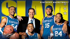 Coach Cal with Patrick Patterson, John Wall, Demarcus Cousins, and Eric Bledsoe <3