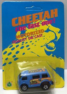 (TAS033971) - Summer Metal Cheetah Fast One! Motorized Die-Cast - Ice Cream Van