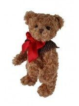 obrázek  EDWARD medvídek mašle a límec (30 cm)