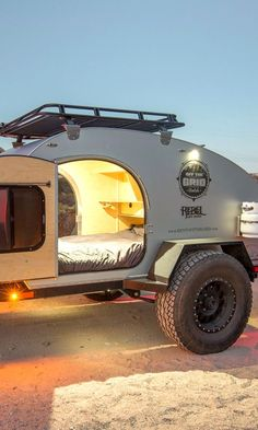 Most off-road teardrop trailers will put a $20,000 dent in your bank account. Which makes renting a much more attractive option.