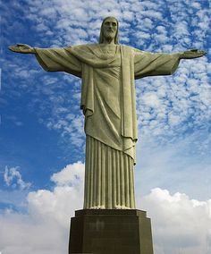 Went to Cristo Redentor. My first of the 7 wonders of the world<3