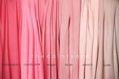 Nude Pink Bridesmaid Convertible Dress Infinity von thedaintyard, $34.00