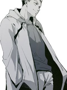 Haikyuu Bokuto, Bokuto Koutarou, Haikyuu Meme, Bokuaka, Haikyuu Fanart, Hot Anime Boy, Anime Guys, Haikyuu Characters, Anime Characters