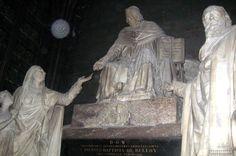 Paris - Île de la Cité: Cathédrale Notre-Dame de Paris - Monument du Cardinal de Belloy