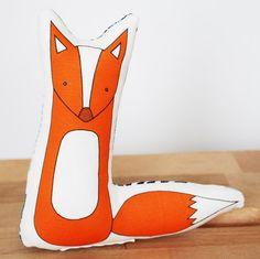 mini printed fox | Kate Durkin