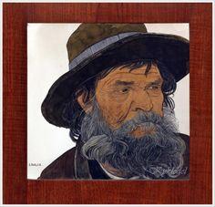 Ernest Bieler (Swiss, 1863-1948) «Portrait of an old man»
