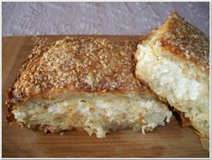 και Cookbook Recipes, Cooking Recipes, Cheese Pies, Greek Recipes, Sandwiches, Food And Drink, Bread, Baking, Breakfast