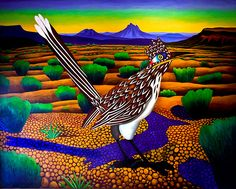 Prolific Texas artist Billy Hassell in spotlight for Tyler Museum of Art's Illuminating Nature exhibition Southwestern Paintings, Southwestern Art, Cactus Painting, Metal Art Projects, Puzzle Art, Landscape Quilts, Collaborative Art, Art Party, Colorful Paintings