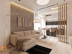 Фото: Кухня-гостиная - Интерьер квартиры в современном стиле, ЖК «Московский квартал», 130 кв.м.