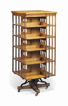 Edwardian Mahogany Octagon Shaped Revolving Bookcase Table | Books And Revolving  Bookcases | Pinterest | Bookcases, Tables And Revolving Bookcase