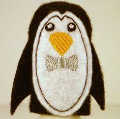 Mr Penguin Finger Puppet by ImogenesTeaGarden on Etsy, $2.50