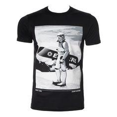 Chunk Clothing Star Wars Snow Trooper T Shirt (Black)