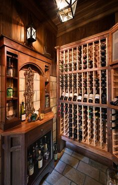 Always wanted a wine cellar and this looks almost perfect