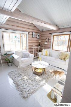 mökki nail designs for 9 year olds - Nail Desing Cabin Homes, Log Homes, Cabin Interior Design, House Design, Design Design, Modern Log Cabins, Rustic Cabins, White Cabin, Log Cabin Living