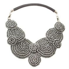 "Necklace ""Silver Collar II"" by HERSTORY Design"