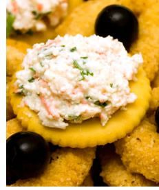 Crab Meat Spread. Crab Meat SpreadI came across this recipe that my mom used to make every year for New Years Eve. The spread was always delicious and popular whether served hot or cold so don't expect any leftovers!