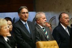 Posse da nova Presidente do STF vira 'reunião' de corruptos com presencia de honra de Lula, Sarney e Pimentel