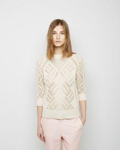 love this sweater.  Steven Alan / Willa Crewneck Sweater