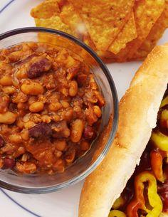 Carolyn's BBQ Beans -- my FAVORITE BBQ beans recipe