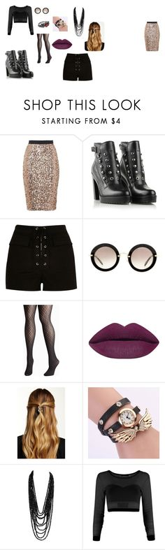 """LOOK MAYA NEW YORK"" by kassy-almeida on Polyvore featuring beauty, French Connection, Diesel, River Island, Miu Miu, Avenue and Natasha Accessories"