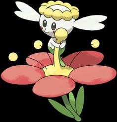 Flabebe. A new pokemon from x and y versions.