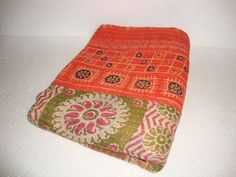 Kantha Quilt Reversible Handmade Bedding 100 by Antiquecollections