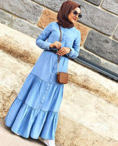 Flowy and cute hijab outfits – Just Trendy Girls