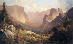 Thomas Hill, View of Yosemite Valley, 1871