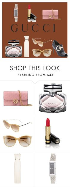 """""""Gucci"""" by baileyoutfitters ❤ liked on Polyvore featuring Gucci"""
