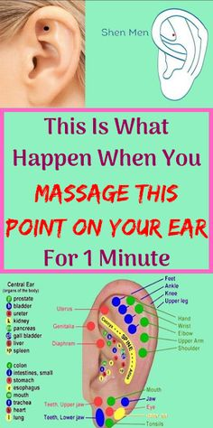 Ear Reflexology, Acupressure, Massage Tips, Massage Therapy, Problem And Solution, What Happens When You, Health Problems, Helpful Tips, Nifty
