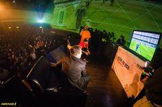 O evento de lançamento do FIFA 14, realizado em parceria com a agência Naked, reuniu fifeiros amadores e profissionais no dia 2 de outubro de 2013 no Cine Joia em São Paulo. Os convidados puderam fazer uma degustação do jogo e curtir o show do Marcelo D2, cantor da música-tema dessa edição do FIFA. #brandexperience #experienciademarca #eventocorporativo  #fifa14 #videogame #EArts #marcelod2 #cinejoia #soccer #futebol