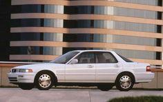 Acura Vigor Sedan White