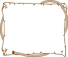 Free Western Clip Art Borders 021512 Vector Clip Art Free Clipart - Clipart Suggest Cowboy Theme, Cowgirl Party, Western Theme, Cowboy And Cowgirl, Cowboy Boot, Western Clip Art, Clip Art Vintage, Envelopes, Westerns