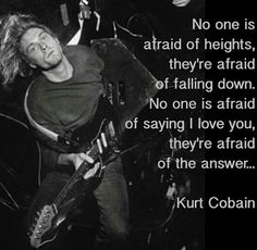 32 Best Amazing Kurt Cobain Quotes Images Kurt Cobain Quotes